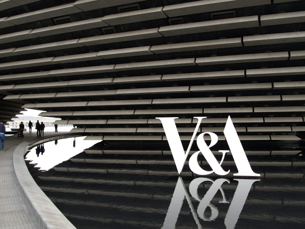 Image of the stunning new V&A Museum in Dundee.