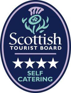 Logo - Scottish Tourist Board 4 star rating