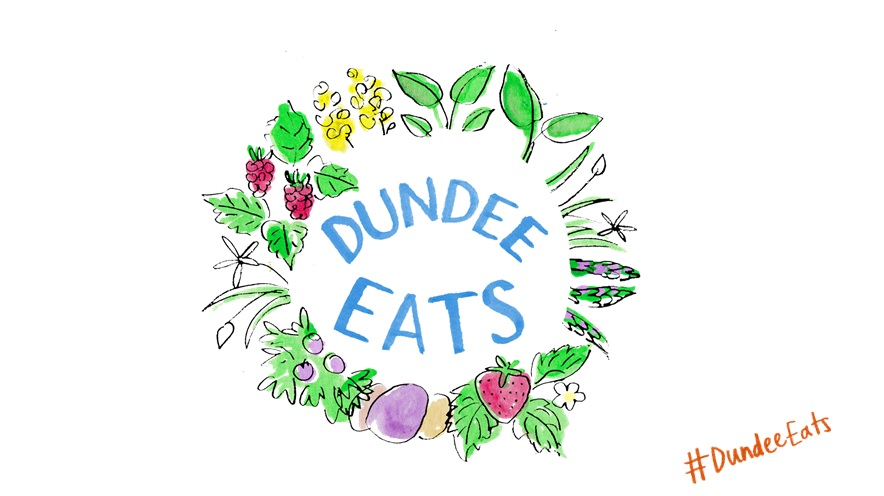 Dundee food and drink - Dundee Eats Logo