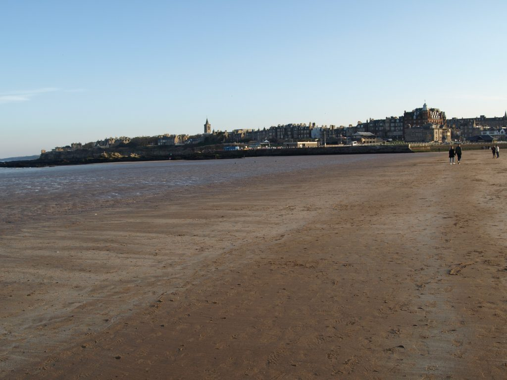 Beach at West Sands St Andrews
